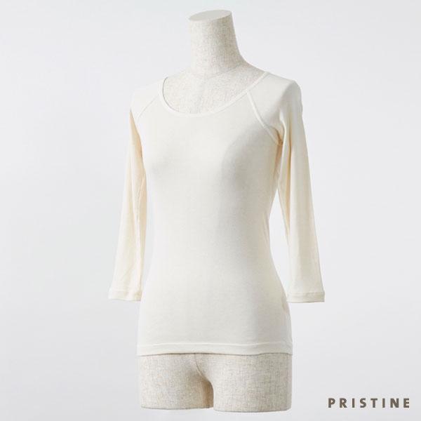 プリスティン セーターイン7分袖 M