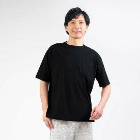 Liflance(リフランス) コンフォートドライ Tシャツ メンズ ブラック/M