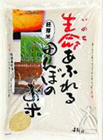 「生命あふれる田んぼのお米」 ひとめぼれ 胚芽米 4kg
