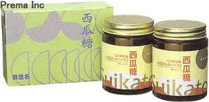 【セットでお得!送料無料】高密度すいかペースト麻里名の西瓜糖2本セット