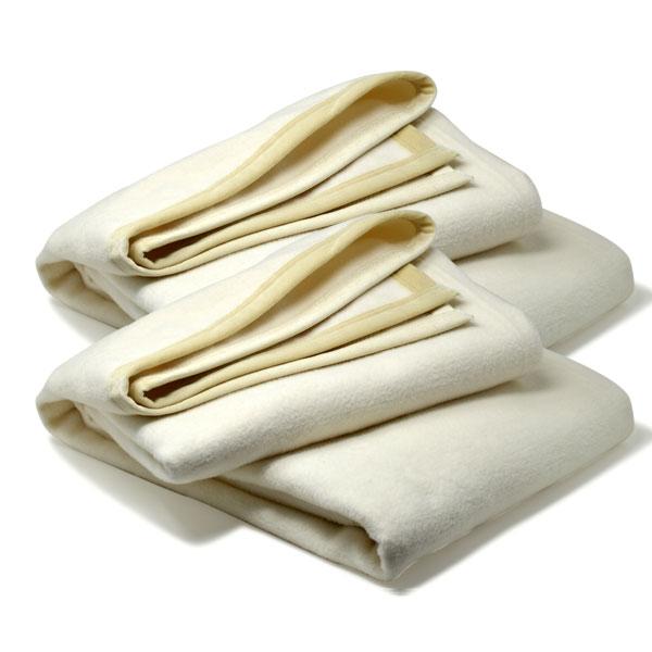 じゅんかん毛布 (200cm×140cm )×2枚