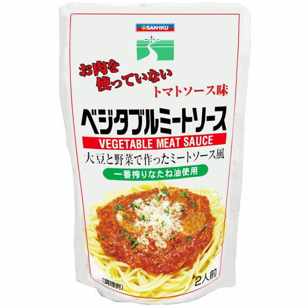 ムソー 三育 ベジタブルミートソース トマトソース味 180g