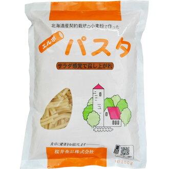 사쿠라이 엘보 파스타(홋카이도산 계약 소맥분) 300 g