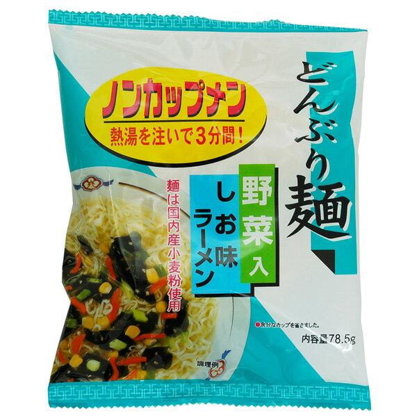 ムソー どんぶり麺・しお味ラーメン 78.5g