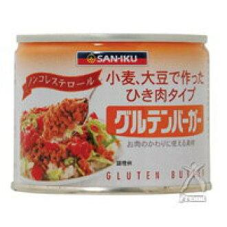 215 g of 三育 gluten burgers