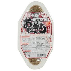 コジマ 有機発芽玄米おにぎり・しそ 90g×2