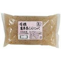 ムソー 有機生芋糸こんにゃく・広島原料 150g