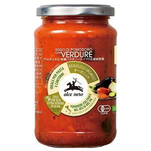 アルチェネロ 有機パスタソース トマト&香味野菜 350g