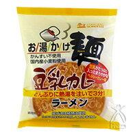 創健社 お湯かけ麺 豆乳カレーラーメン 79g(めん60g)