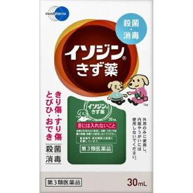 【第3類医薬品】イソジンきず薬 30ml[イソジンきず薬]