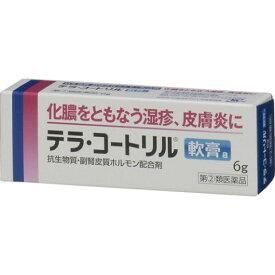 【指定第2類医薬品】テラコートリル軟膏【お1人様5個まで。別注文での複数購入不可】[皮膚の薬 傷薬・化膿止め]
