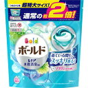 P&G ボールド ジェルボール3D 爽やかプレミアムクリーンの香り 詰め替え 超特大 34個[ボールド 洗濯洗剤 ジェルボール] (毎)