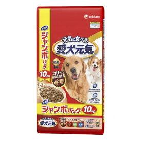 愛犬元気 ビーフ・緑黄色野菜・小魚 10kg[愛犬元気 ドッグフード ドライ] (特)