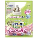 デオトイレ ふんわり香る消臭・抗菌サンド ホワイトフローラルの香り 3.8L[デオトイレ システムトイレ用猫砂] (毎)