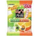 ぷるんと蒟蒻ゼリー パウチ マスカット+オレンジ 12個×12個セット[ぷるんと蒟蒻ゼリー]