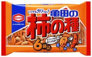 [毎]亀田製菓 亀田の柿の種6袋 200g×12個セット [亀田の柿の種 米菓]
