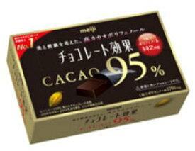 明治 チョコレート効果 カカオ95%BOX 60g×5個セット (毎)