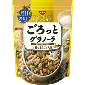 ごろっとグラノーラ 3種のまるごと大豆400g×6個セット[ごろっとグラノーラ シリアル] (毎)