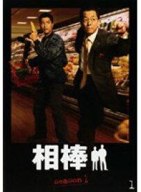【中古】相棒 season 1 全7巻セット s14343/SDR-154A-154G【中古DVDレンタル専用】