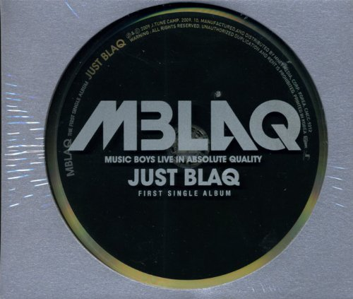 【中古】JUST BLAQ/MBLAQ/CMCC-9212【中古CD】