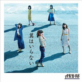 【中古】翼はいらない Type B 通常盤/AKB48/KIZM-431-2【中古CDS】