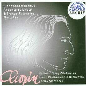 【中古】Chopin: Piano Concertos No.1 / Czech Po c7013【中古CD】