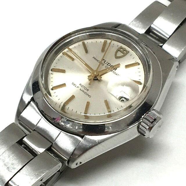 チュードル TUDOR 92400 プリンセス デイト 自動巻き 腕時計 ウォッチ シルバー/ゴールド 金 銀 ジャンク SSAW レディース 【中古】【ベクトル 古着】 170619 VECTOR×Refine