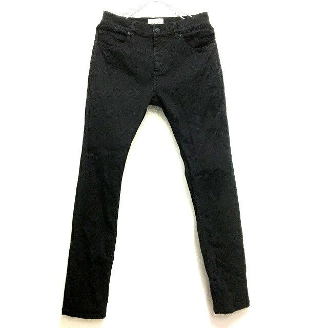 ローラズ ジーンズ Rollas Jeans Stinger ストレッチ スキニーフィット デニムパンツ ジーンズ 30/32 ブラック 黒 SSAW メンズ 【中古】【ベクトル 古着】 170806 VECTOR×Refine