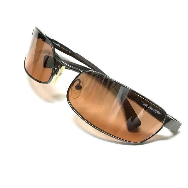 アーネット arnette INVADER 3017-502/7H メタルフレーム サングラス 眼鏡 メガネ ブラウン系 茶 SSAW メンズ 【中古】【ベクトル 古着】 180427 VECTOR×Refine