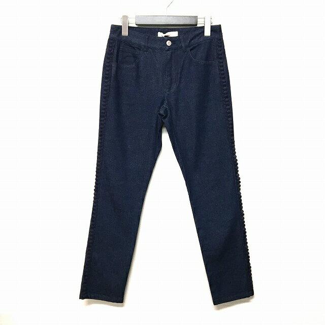 シーバイクロエ SEE BY CHLOE ストレッチ スキニーデニム ジーンズ 刺繍 embroidered trim jeans インディゴ 青 27 S6SDP08-S6S150 レディース 【中古】【ベクトル 古着】 171019 VECTOR×Refine