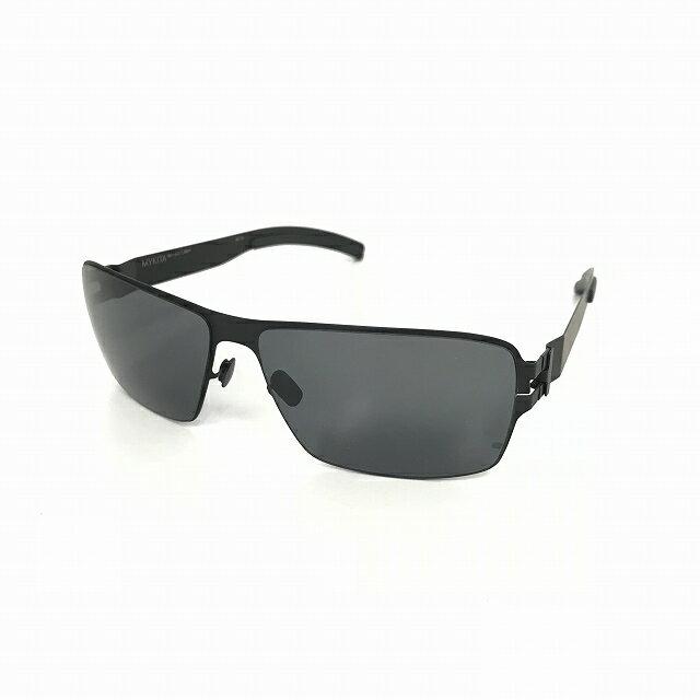 マイキータ MYKITA 1SUN LARRY サングラス 眼鏡 BLACK BLACK SOLID col.002 メンズ 【中古】【ベクトル 古着】 180816 VECTOR×Refine