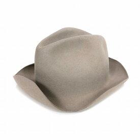 【中古】レナードプランク REINHARD PLANK 中折れ フェルト ハット 帽子 LAILA LAPIN L01 ベージュ M col.050 6512962008 メンズ 【ベクトル 古着】 181222 VECTOR×Refine