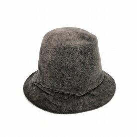 レナードプランク REINHARD PLANK 変形 フェルト ハット 帽子 MINI STREGA L06 ブラウン 茶 SIZE 13 XL 6589972051 col.049 メンズ 【中古】【ベクトル 古着】 190114 VECTOR×Refine