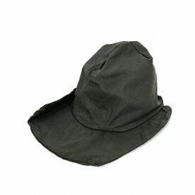レナードプランク REINHARD PLANK シワ加工 変形 コーティング コットン ハット 帽子 SAM COT カーキ SIZE 01 6582971011 col.022 メンズ 【中古】【ベクトル 古着】 190207 VECTOR×Refine
