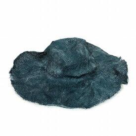 【中古】レナードプランク REINHARD PLANK ワイドブリム ストローハット 麦わら帽子 DONNA RAS ブルー 青 SIZE 09 M 6501981058 col.195 メンズ 【ベクトル 古着】 190209 VECTOR×Refine