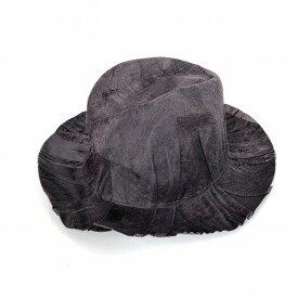 レナードプランク REINHARD PLANK シワ加工 中折れ ハット 帽子 FRANCESCO CTAP パープル SIZE 11 L 6589982018 col.083 メンズ 【中古】【ベクトル 古着】 190210 VECTOR×Refine