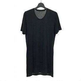 【中古】ユリウス JULIUS × ATRUM 1st Anniversary Tシャツ カットソー 半袖 3 ブラック 黒 467CUM52 メンズ 【ベクトル 古着】 190830 VECTOR×Refine