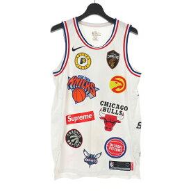 【中古】シュプリーム SUPREME × ナイキ NIKE 18SS NBA Teams Authentic バスケシャツ タンクトップ M マルチカラー AQ4228-100 メンズ 【ベクトル 古着】 191121 VECTOR×Refine