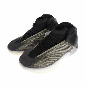 【中古】未使用品 アディダスオリジナルス adidas originals by KANYE WEST YEEZY QNTM BARIUM イージー クァンタム バリウム スニーカー 26.5cm US8.5 ブラック 黒 H68771 メンズ 【ベクトル 古着】 200703 VECTOR×Refine