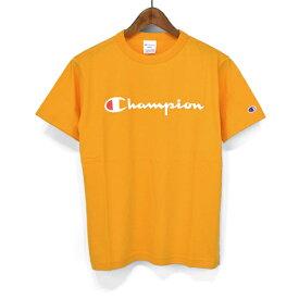 Champion チャンピオン ロゴ プリント Tシャツ BASIC T-SHIRT C3-P302 ベーシック シンプル 半袖 Tシャツ TEE メンズ S/S TEE ショートスリーブ スケート スケボー mens メンズ ladys ユニセックス トップス 定番 通販 ストリート アメカジ