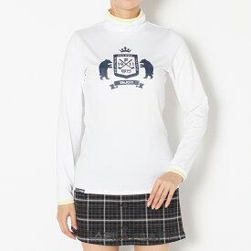 【SALE】FILA(フィラ) ハイネックシャツ レディース 全2色 M/L FILA 女性 吸汗速乾 / ストレッチ / UVカット ゴルフウェア かわいい オシャレ 大きいサイズ レジャー コース 秋 冬