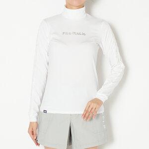 FILA(フィラ) インナーシャツ レディース 全2色 M/L FILA 女性 UVカット ストレッチ ゴルフウェア かわいい オシャレ 大きいサイズ レジャー コース 秋 冬