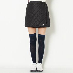 【SALE】 FILA(フィラ) スカート レディース 全2色 フリー FILA 女性 ゴルフウェア かわいい オシャレ 大きいサイズ レジャー コース 秋 冬