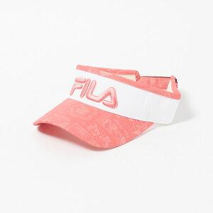 FILA(フィラ) バイザー レディース 全2色 フリー FILA 女性 ゴルフウェア かわいい オシャレ 大きいサイズ レジャー コース 春 夏