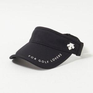 【送料無料】 デサントゴルフ サンバイザー レディース 全2色 フリー DESCENTE GOLF 女性 ゴルフウェア かわいい オシャレ 大きいサイズ レジャー コース 春 夏