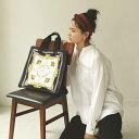 【公式】[トプカピ トレジャー] TOPKAPI TREASURE スカーフ パネル柄 マチあり トート バッグ