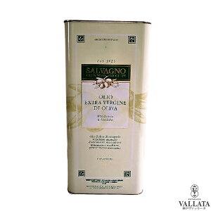 イタリア通の有名人御用達! ベローナ産 「サルバーニョ」 5L缶 オリーブオイル【Salvagno】
