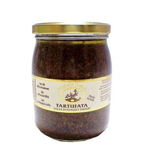 タルトゥファータ 500g トリュフ truffle 黒トリュフ イタリアン イタリア産 ウンブリア イタリア Tartufibianconi マッシュルーム オリーブオイル ペースト 瓶 芳醇な香り