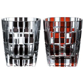 名入れ ギフト オールドグラスGLASS WORKS NARUMI (鳴海製陶)アーバン ロックグラスペア 270cc ペアグラス名入れ