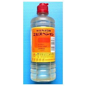 恵美須薬品 特製カイロ用ベンジン 【汎用】エビスベンジン 500ml ポリ瓶入り